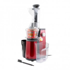EXTRACTEUR DE FRUITS ET LEGUMES YOGHI 400W SLOWJUICER DETOX RED